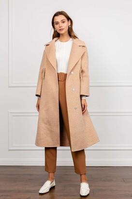 J.ING Birchwood Wool A-Line Coat