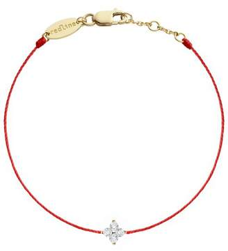 Redline Shiny Diamond Bracelet - Red