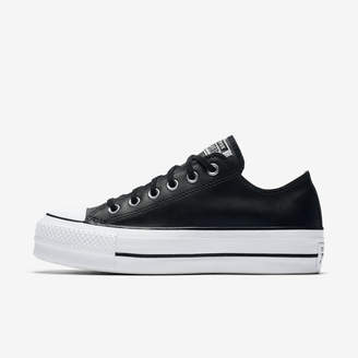 Nike Converse Chuck Taylor All Star Lift Clean Leather Low Top Leather Womens Shoe