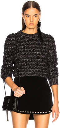 Saint Laurent Lurex Striped Sweater