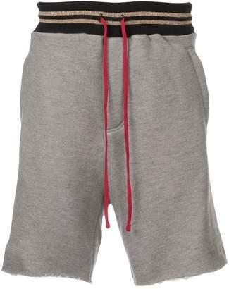 Amiri stripe detail shorts