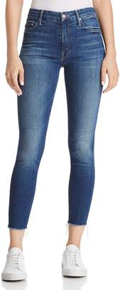 Mother The Looker High Rise Ankle Jeans in Goin' for Gold