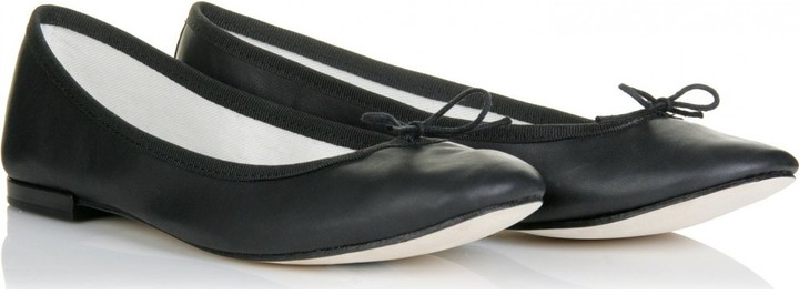 Repetto LAMBS LEATHER BALLERINAS