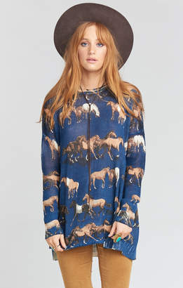 Show Me Your Mumu Bonfire Sweater ~ Horsing Around Knit