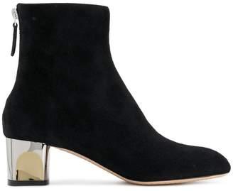 Alexander McQueen metal heel boots