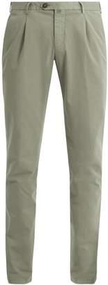 THOM SWEENEY Slim-leg stretch-cotton chino trousers