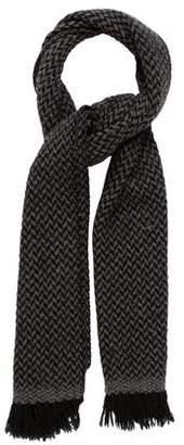 Etoile Isabel Marant Wool Fringe-Trimmed Scarf