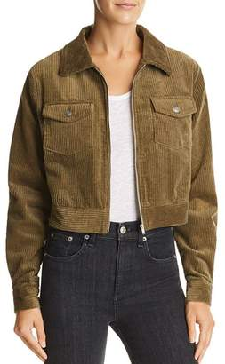 Lost and Wander Lost + Wander Cropped Corduroy Jacket