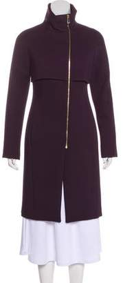 Versace Knee-Length Tailored Coat w/ Tags