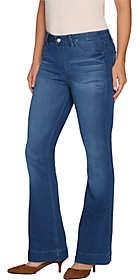 Laurie Felt Tall Silky Denim FlarePull-On Jeans
