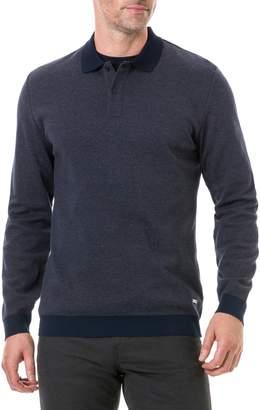 Rodd & Gunn Holland Crescent Long Sleeve Regular Fit Polo Shirt
