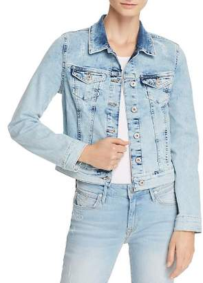 Mavi Jeans Samantha Vintage Denim Jacket in Bleach Vintage