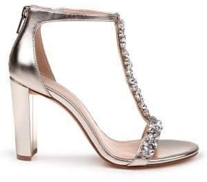 Badgley Mischka Morely Embellished Sandals