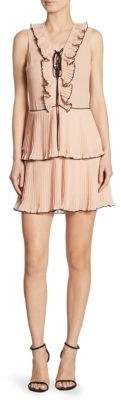 DAY Birger et Mikkelsen Delfi Collective Kiki Pleated Lace-Up Dress