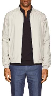 Herno Men's Tech-Poplin Bomber Jacket