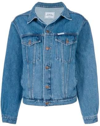 Couture Forte Dei Marmi tiger denim jacket