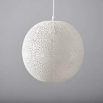 Pottery Barn Teen Punched Metal Pendant, Medallion, Small Round 12 x 12&quot