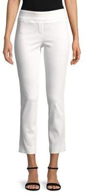 Isaac Mizrahi IMNYC Slimming Ankle Length Straight Leg Pants