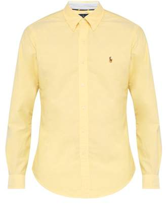 Polo Ralph Lauren Slim Fit Cotton Oxford Shirt - Mens - Yellow