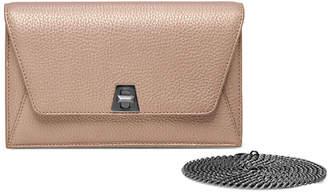 Akris Anouk Mini Leather Chain Envelope Clutch Bag