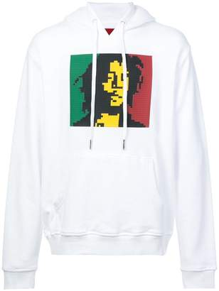 Mostly Heard Rarely Seen 8-Bit Chillin' print hoodie