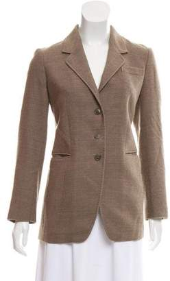 Paul Smith Virgin Wool Notch-Lapel Blazer