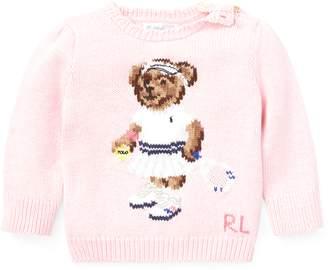 Ralph Lauren Tennis Bear Sweater