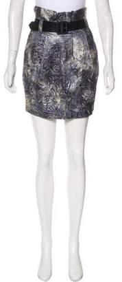 Elizabeth and James Knee-Length Flared Skirt