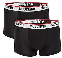 Moschino Men's 2-Pack Basic Trunks