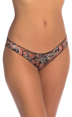 Free People Phoebe Printed Bikini