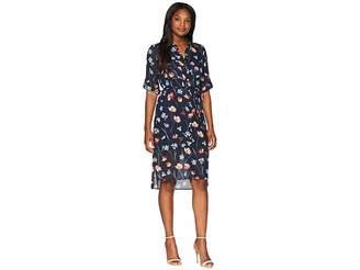 Jones New York Printed Floral Shirtdress Women's Dress