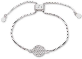 DKNY Pave Disc Slider Bracelet