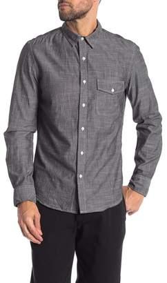 Save Khaki Chambray Classic Fit Shirt