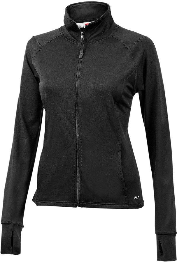 Fila Women's Solid Knit Jacket
