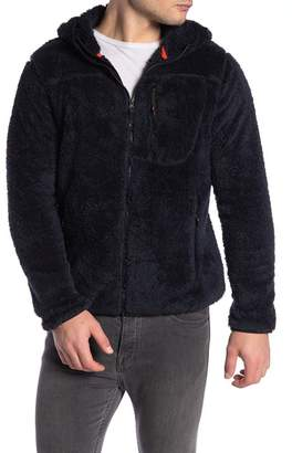 Hawke & Co Lightweight Fleece Teddy Jacket