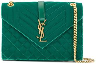 Saint Laurent Monogram envelope shoulder bag