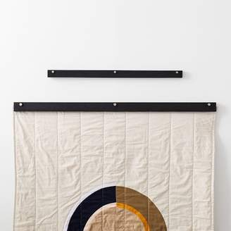 west elm Louise Gray Quilt Hanger