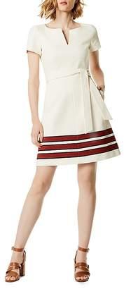 Karen Millen Striped Tweed Dress