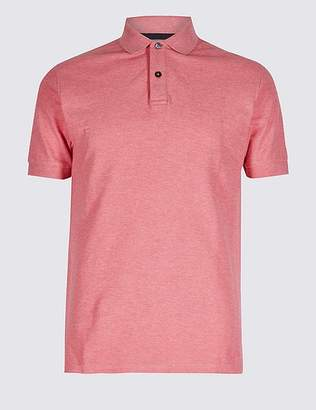Marks and Spencer Slim Fit Pure Cotton Polo Shirt