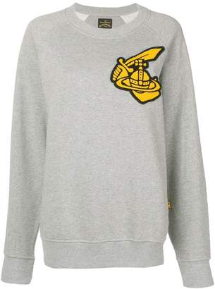 Vivienne Westwood front patch sweater