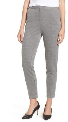 Vince Camuto Mini Houndstooth Skinny Ankle Pants