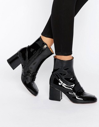 Whistles Ambrose 60's Square Toe Boot $294 thestylecure.com