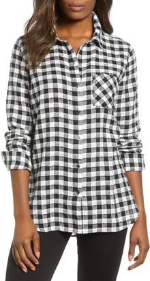 Caslon Checkered Button Down Shirt