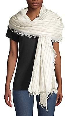 Rag & Bone Women's Nassau Wool Striped Scarf