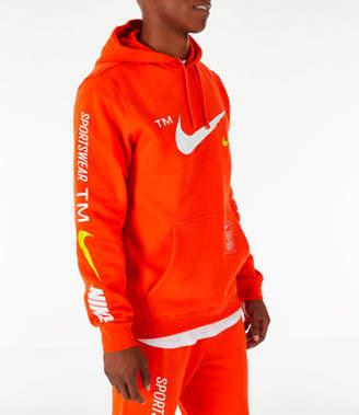Nike Mens Sportswear Microbranding Hoodie