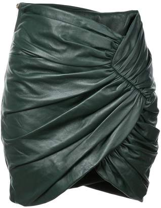 Alexandre Vauthier gathered style mini skirt