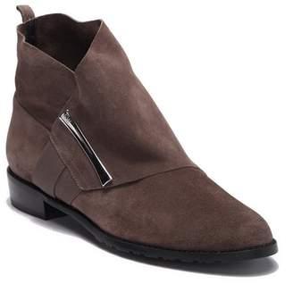 Stuart Weitzman Barter Leather Ankle Bootie