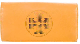 Tory Burch Tory Burch Leather Flap Wallet