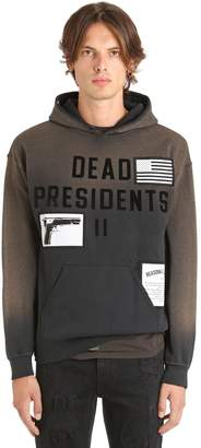 Madeworn X Jay Z Dead Presidents Ii Hooded Sweatshirt