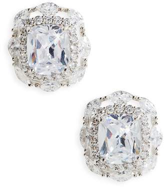 Nina Large Cubic Zirconia Stud Earrings